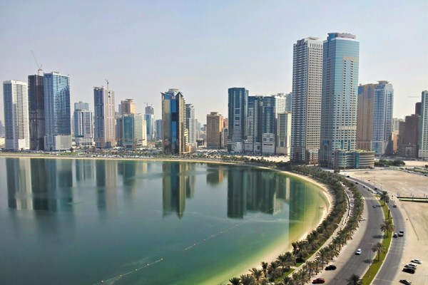Ajman United Arab Emirates  city images : View of Sharjah, UAE, Oct. 17, 2012 photo by Flickr user mfahad ...