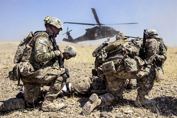 an overview of the war against the afghanistan by united states The afghanistan war: a simple explanation by angie drobnic holan on monday, october 12th,  in march 2003, the united states launched a war against iraq,.