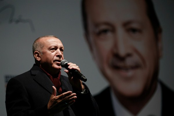 In Local Elections, Turkey's Erdogan Looks to Avoid a Major Blow to His Legitimacy