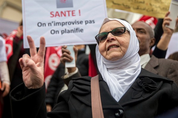 Is Tunisia's Post-Arab Spring 'Success Story' Only Skin-Deep?
