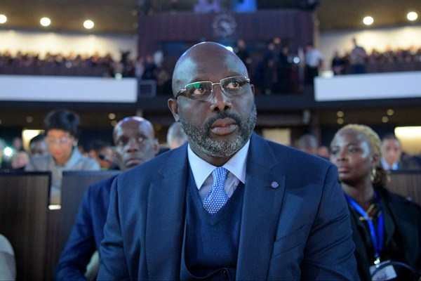 In the Eyes of Protesters, Liberia's Weah Has Gone 'From Hero to Let-Down'