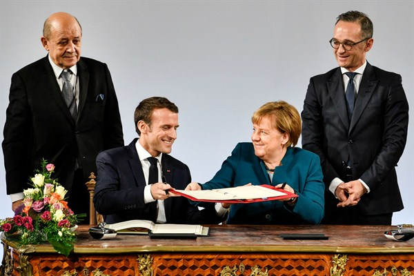 Can an 'Alliance for Multilateralism' Succeed in a New Era of Nationalism?