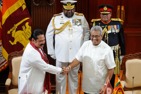What Will the Return of the Rajapaksas Mean for Sri Lanka?