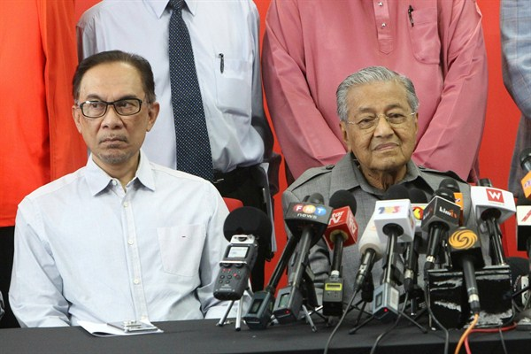 Fractious Party Politics Threatens to Upend a Succession Plan in Malaysia