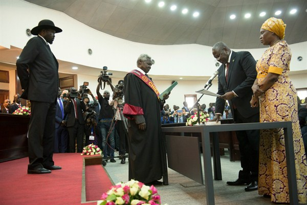 Years After a Peace Deal, South Sudan Finally Has a Government. Can It Hold?