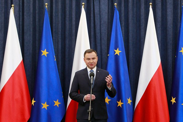 Constitutional Crisis Veers Poland Into Uncharted Territory