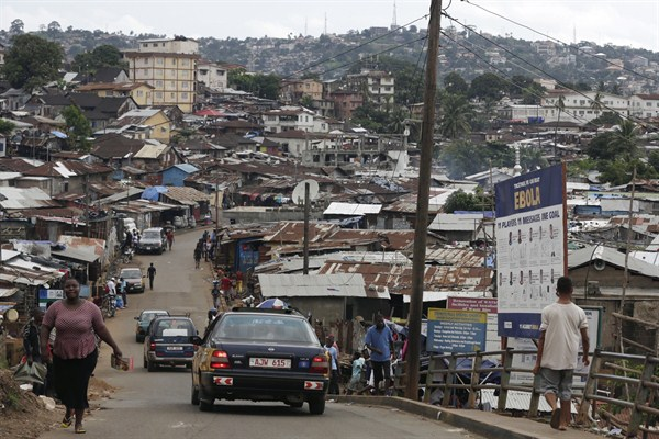 Declining Income Inequality Masks Sierra Leone S Slow