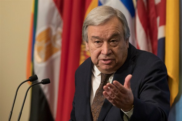 Can Guterres Turn the U.N.'s Bureaucrats Into Heroes?