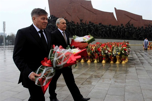 What's Driving Russia's Approach to Ties With North Korea?