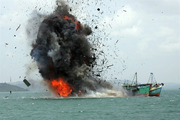 The Next Resource War May Be Over Illegal Fishing Is The