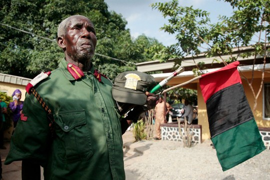 Their Leader Is Missing, but Nigeria's Biafran Separatists