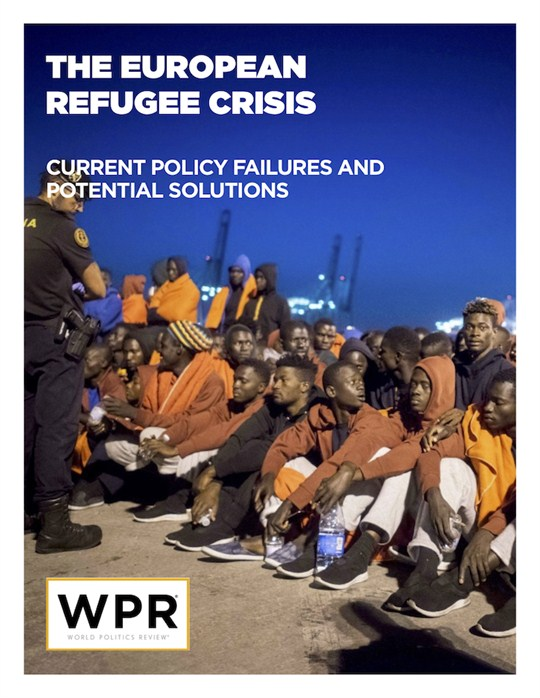 European Refugee Crisis report cover.