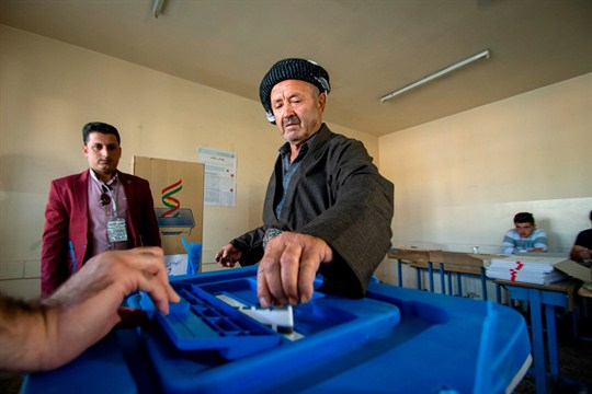 After Inconclusive Elections, Iraq's Kurds Will Struggle to Speak With a Single Voice A_kurdistan-elections-11052018-1