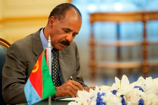 With U N  Sanctions on Eritrea Lifted, a Pariah State Comes