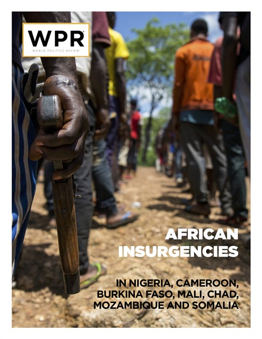 Cover of African Insurgencies report.