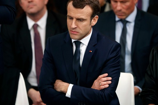 Will A Scandal And The Yellow Vest Crackdown Trip Up France S Macron
