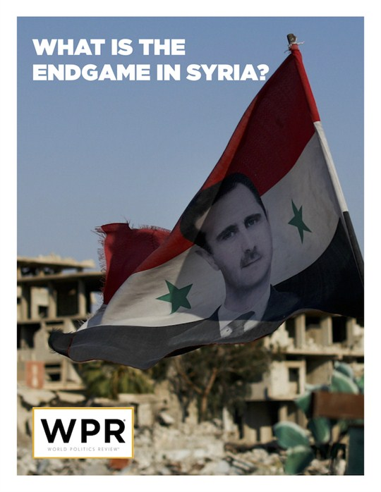 Cover of Endgame in Syria report.