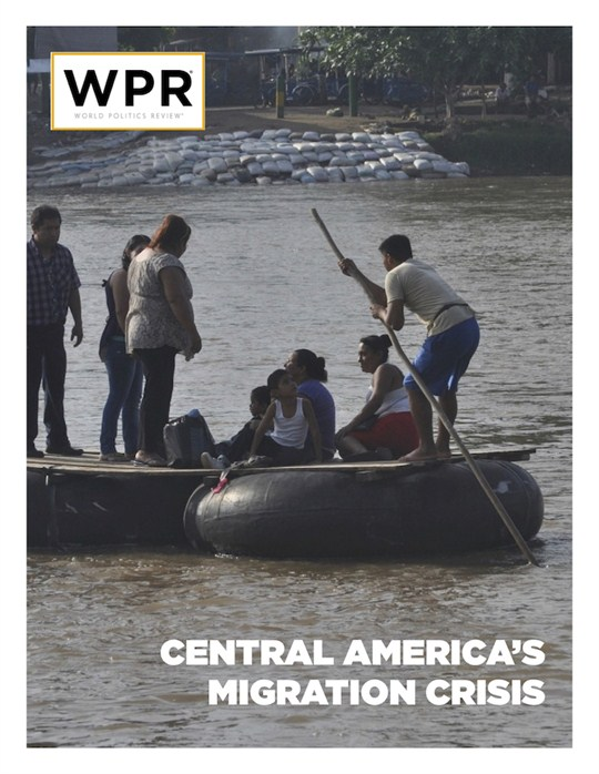 Central America's Migration crisis cover.