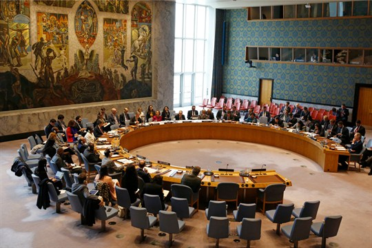 Members of the U.N. Security Council meet in 2019 as calls for UNSC reform have disappeared.
