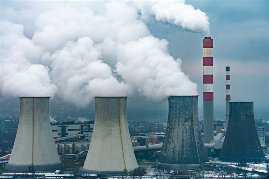 The Laziska coal-fired power plant near Katowice, Poland, where the U.N. climate change conference was held.