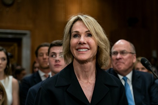 Kelly Knight Craft, the United States ambassador to the United Nations, at her confirmation hearing