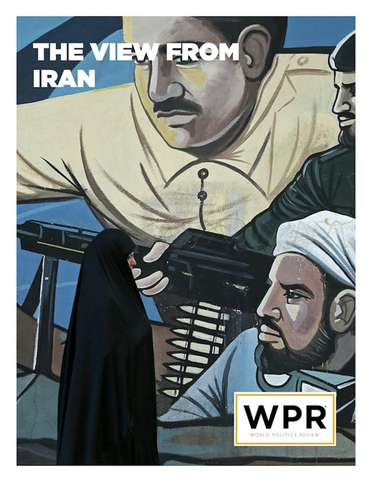 The cover of WPR's report on Iran sanctions and the view from Iran.