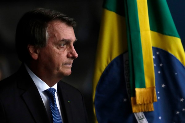 Bolsonaro's Sudden Interference in the Economy Could Sink Brazil
